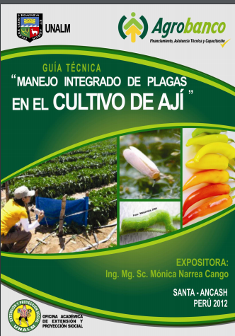 MIP de Plagas en el Cultivo de Aji. PDF gratis