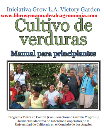 Manual de cultivo de HORTALIZAS para principiantes. pdf gratis