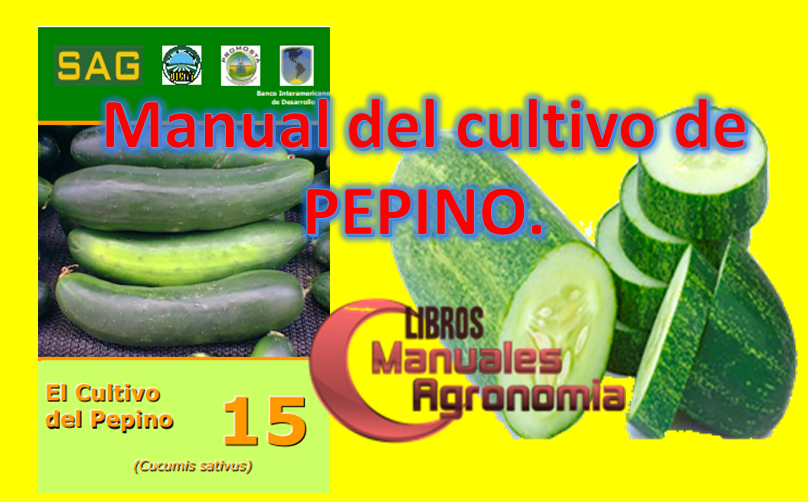 Manual del cultivo de PEPINO. pdf gratis