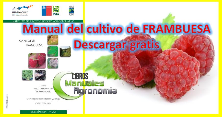 Manual del cultivo de FRAMBUESA. pdf gratis